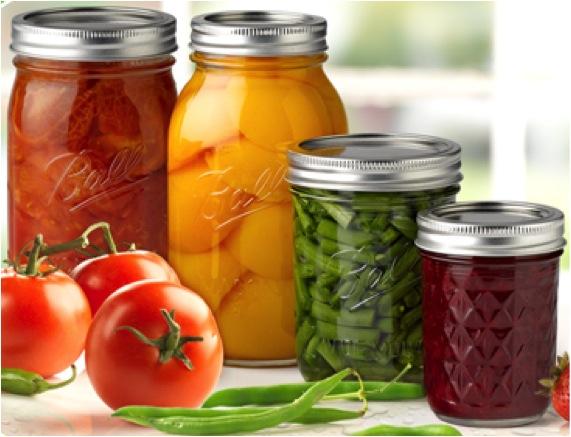 Image of canning jars