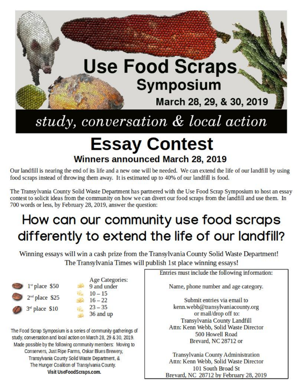 Food Scrap Symposium flyer